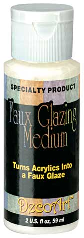 Faux Glazing Medium