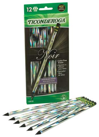 Ticonderoga Noir Pencils