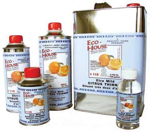 Extra Mild Citrus Thinner By Eco House Raw Materials Art Supplies