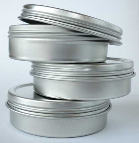 Empty Hot Cakes 3-Tin Set