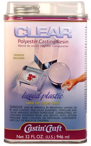 Castin'Craft Clear Polyester Casting Resin with Catalyst