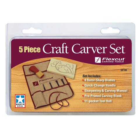 5-piece Craft Carver Set