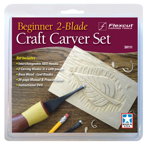 Beginner 2-Blade Craft Carver Set