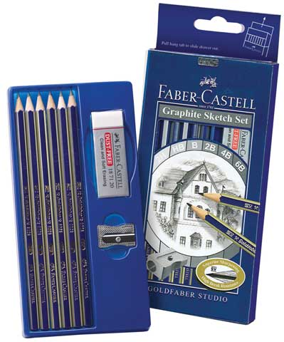 GoldFaber Graphite Sketch Set