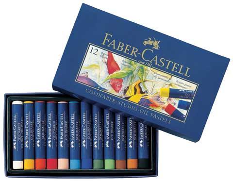 Faber Castell Creative Studio Goldfaber 24 Oil Pastels FC127024