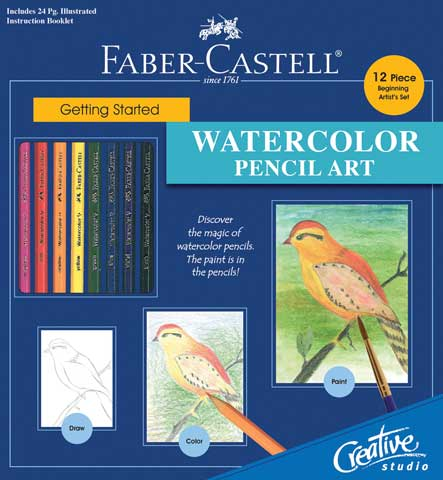 Creative Studio Getting Started Watercolor Pencil Set