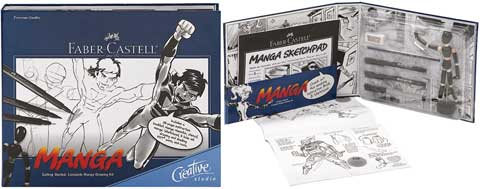 Creative Studio Getting Started Manga Complete Drawing Kit