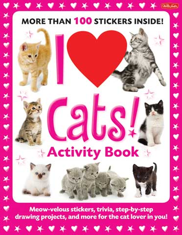 I Love! Activity Books
