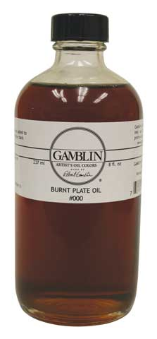 Burnt Plate Oil