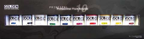 Fluid Acrylics 10-Color Set