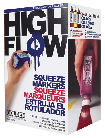 High Flow Squeeze Marker Set