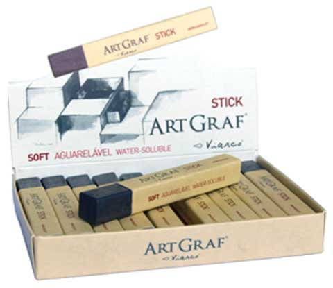 Water-Soluble Graphite Sticks