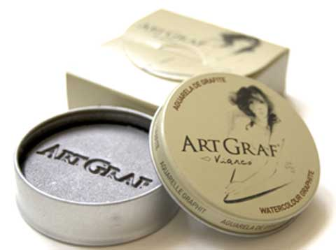 Water-Soluble Graphite Tins