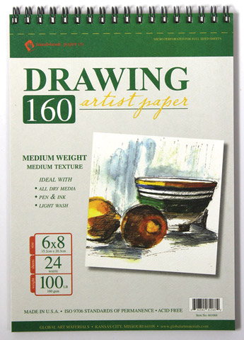 Drawing 160 Artist Paper Pad