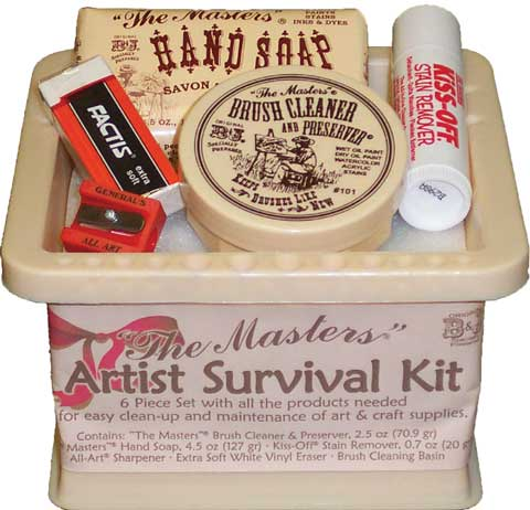 The Masters Artist Survival Kit