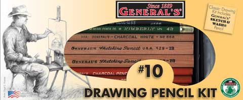 Drawing Pencil Kit No. 10