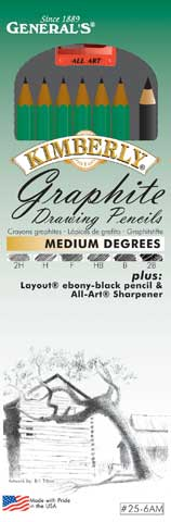 Kimberly Graphite Pencil Sets