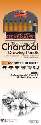 The Original Charcoal Drawing Pencil Set