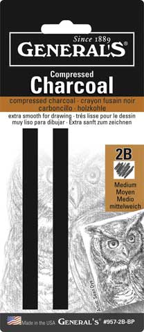 Compressed Charcoal Sets
