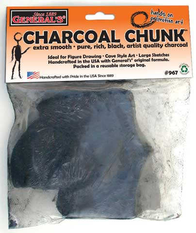 Charcoal Chunks & Blocks