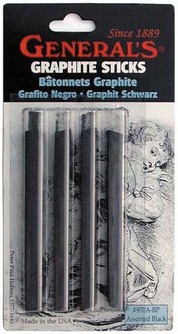 Graphite Art Sticks