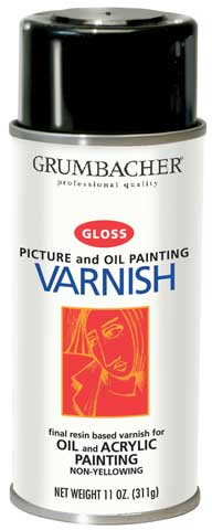 Picture Varnish Spray