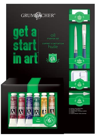 Get a Start in Art Oil Set