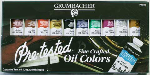 Pre-Tested Oil Color Sets