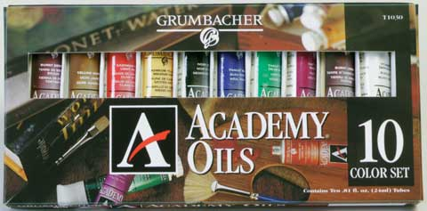 Academy Oil Color Sets