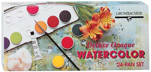 Transparent & Opaque Watercolor Pan Sets