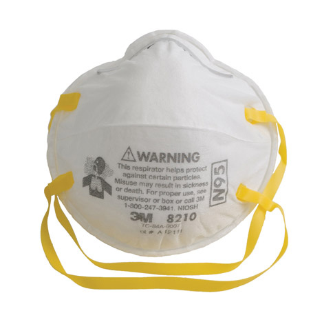 Edge White Dust Mask