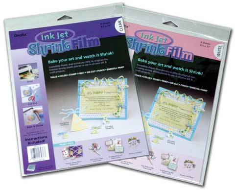 Ink Jet Shrink Film