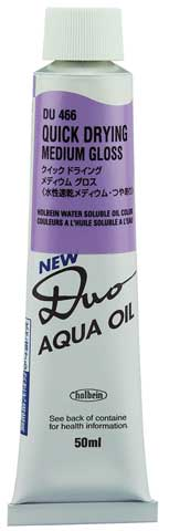 DUO Aqua Oil Quick Drying Pastes