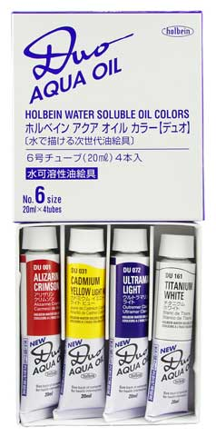DUO Aqua Oil 4-Color 20ml Set