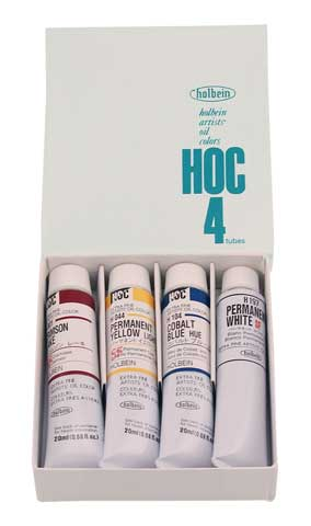 Artists' Oil Color 4-Color Sampler Set