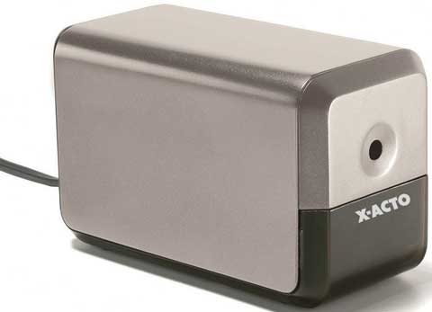 Compact Electric Pencil Sharpener