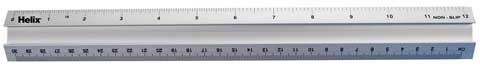 "12"" Metal Safety Ruler"