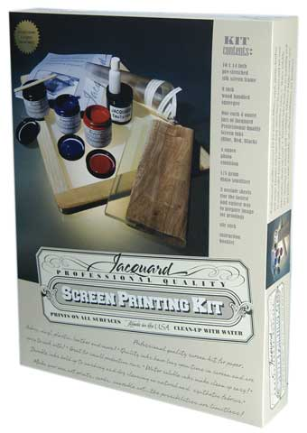 Professional Quality Screen Printing Kit