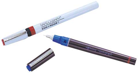 Rapidograph 3165 Technical Pens