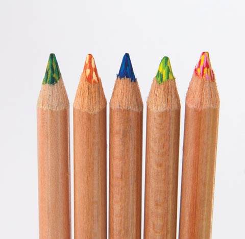 Tritone Colored Pencils