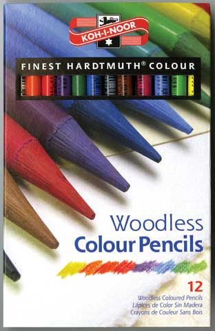 Progresso Woodless Colored Pencil Sets