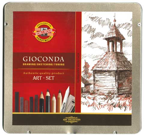 Gioconda 24-Piece Chalk Art Set