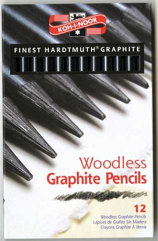 Progresso Woodless Graphite Pencil Set