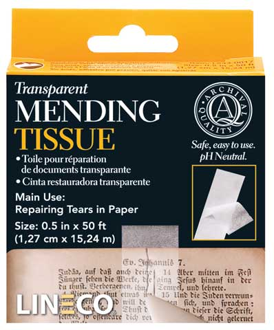 Transparent Mending Tissue