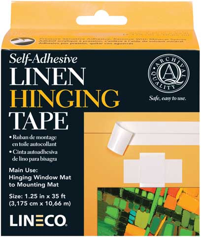 Self Adhesive Linen Hinging Tape
