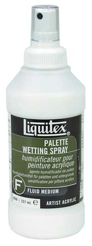 Palette Wetting Spray