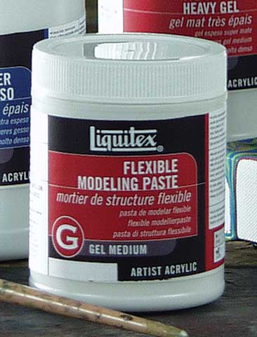 Flexible Modeling Paste