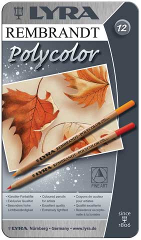 Rembrandt Polycolor Colored Pencil Sets