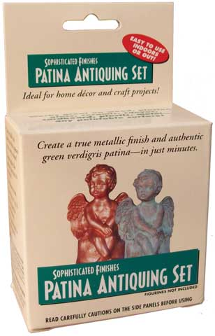 Patina Green Antiquing Set