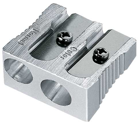 Magnesium 2-Hole Sharpener - Art Pencil